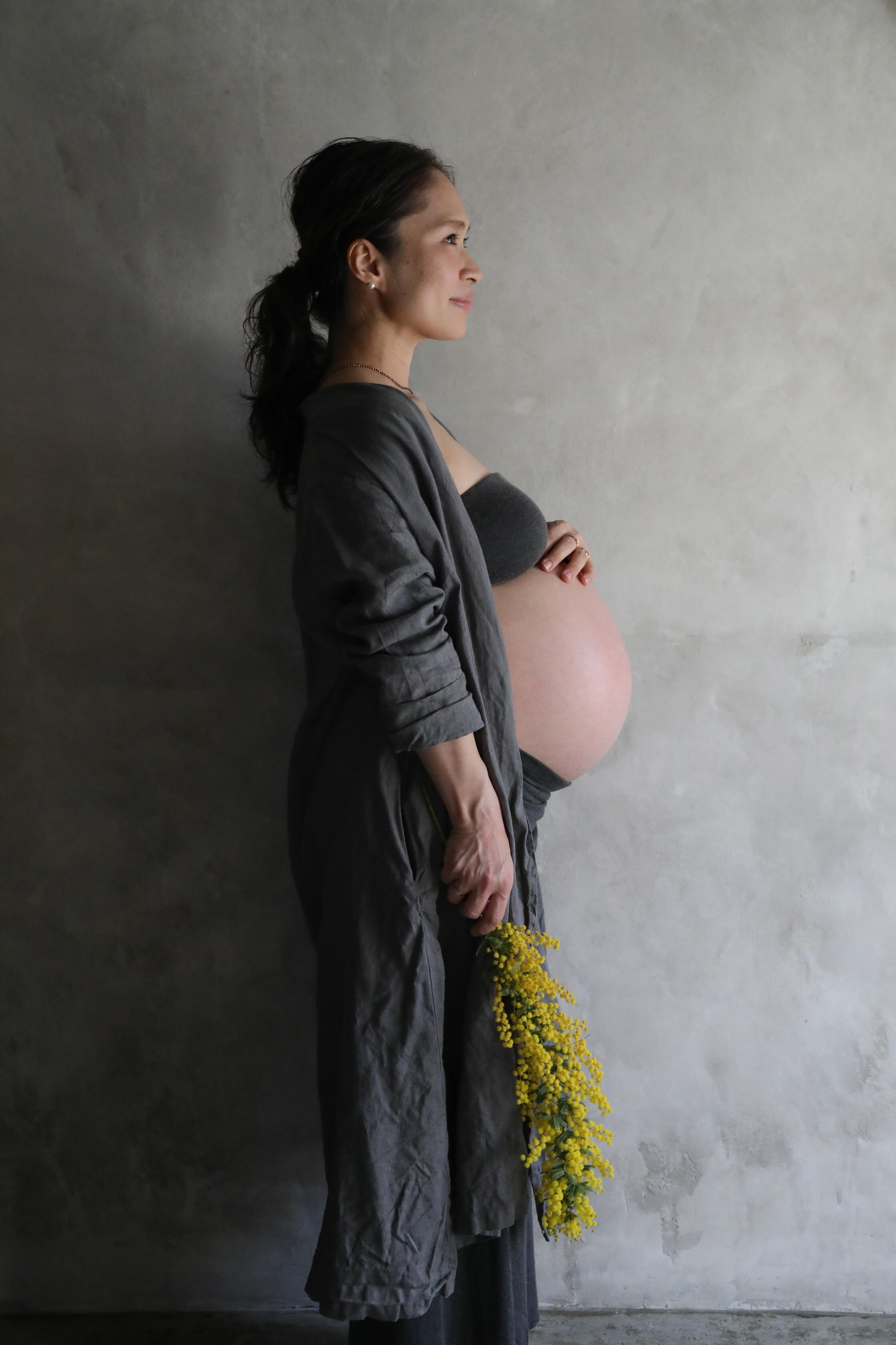 #Blossom 08 お花屋のアトリエで撮るマタニティフォト