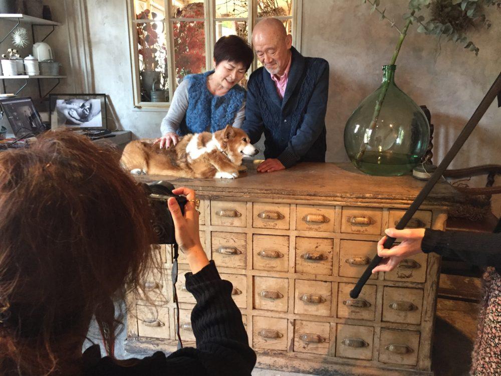 #Blossom 14 愛犬と一緒に撮影できるスタジオ 撮影風景