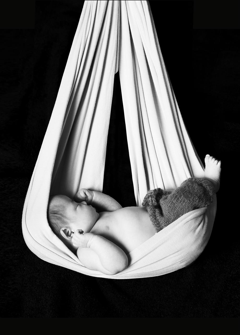 #244 Newbornphoto ニューボーンフォト ゆりかご