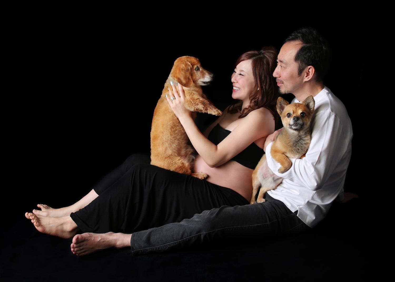 WithDog 愛犬とマタニティフォトが撮影できるスタジオ