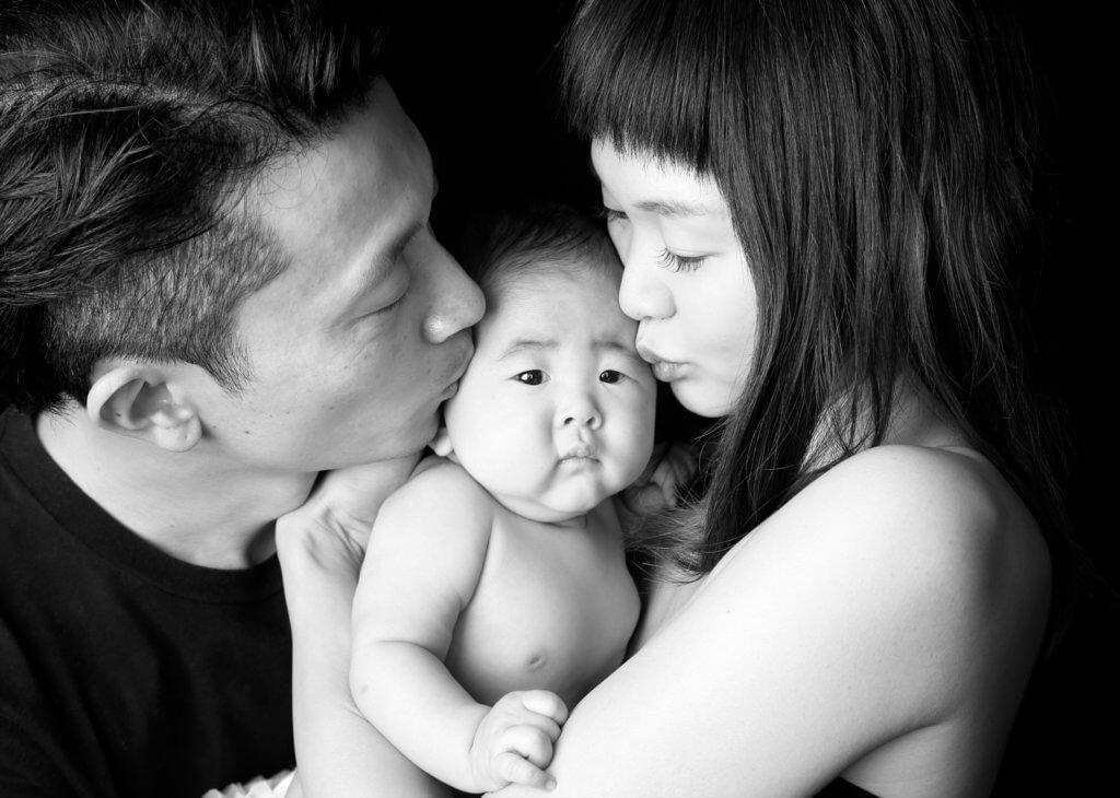 家族写真 モノクロ 歴史
