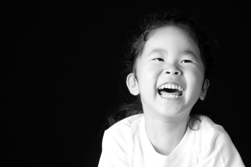子供写真スタジオ モノクロ
