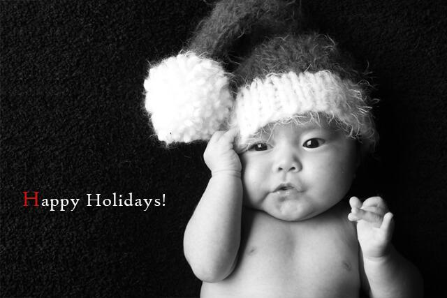 クリスマス 子供 撮影 写真 happyholidays
